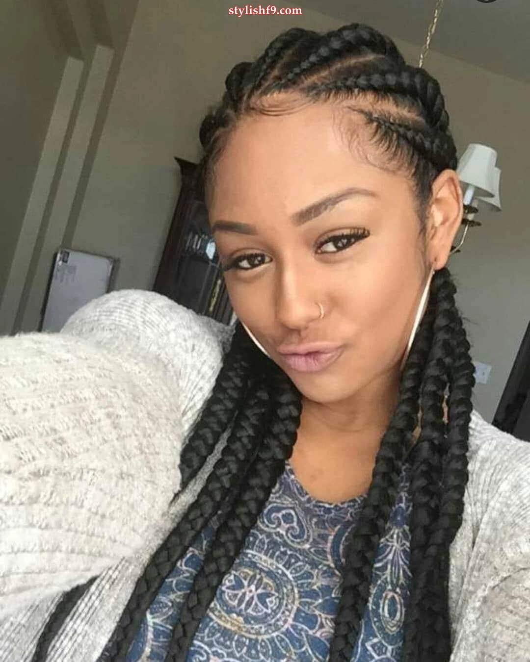 Rasta Braids Hairstyles: Best Cornrow Rasta Styles In 2019 • Stylish F9