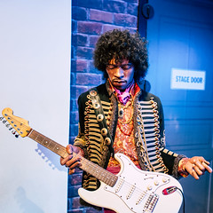 Jimi Hendrix, Madame Tussauds London