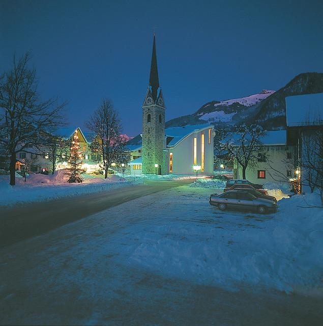 Maishofen im Winter