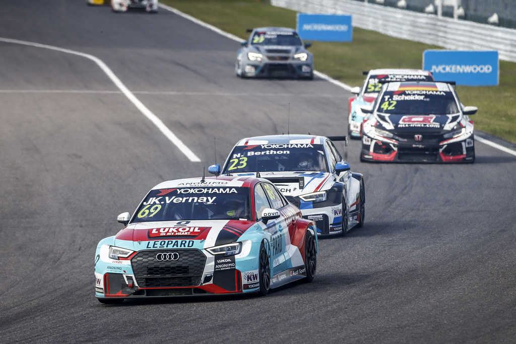 69 VERNAY Jean-Karl, (fra), Audi RS3 LMS TCR team Audi Sport Leopard Lukoil, action during the 2018 FIA WTCR World Touring Car cup of Japan, at Suzuka from october 26 to 28 - Photo Francois Flamand / DPPI