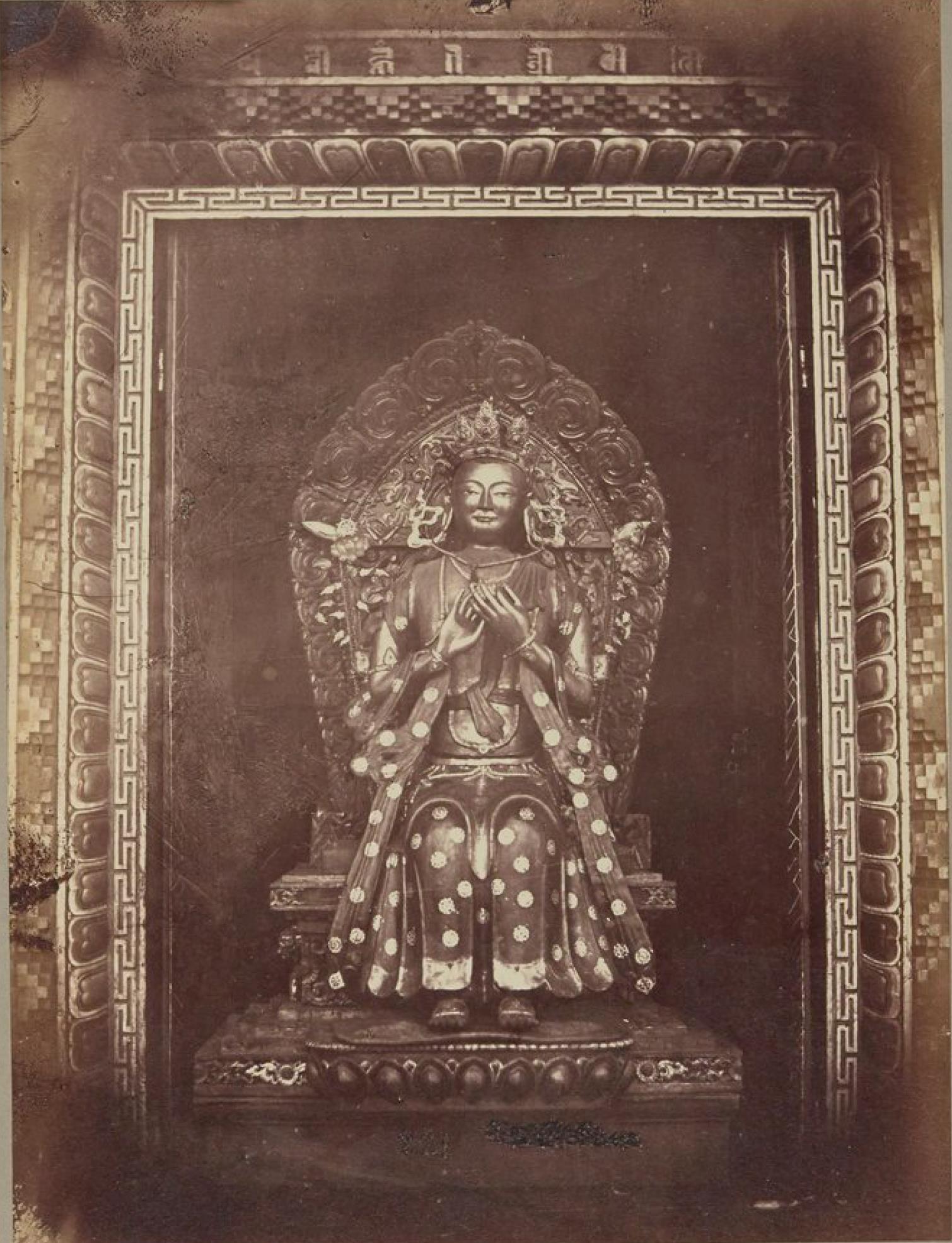 Бурятский идол Бурхан