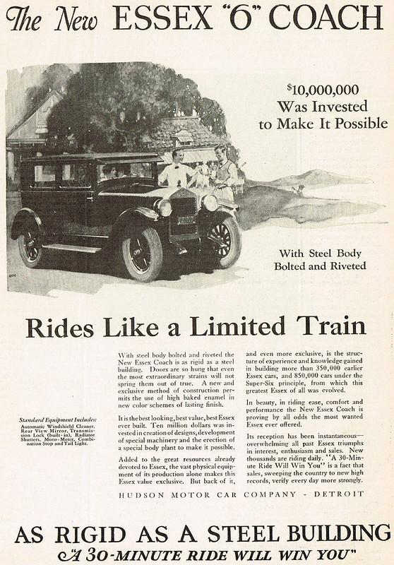 1926 Hudson Essex 6 Coach