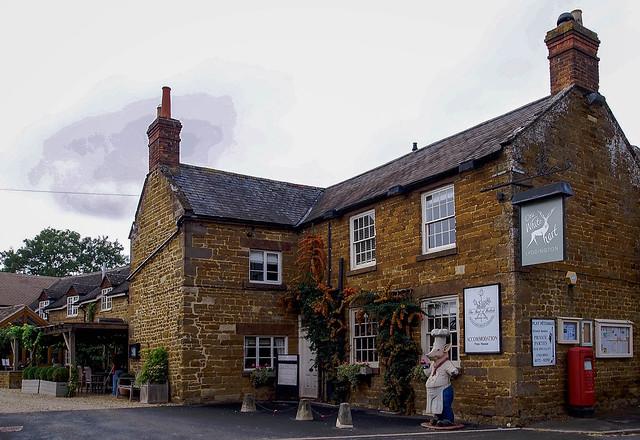 The Old White Hart...a village pub