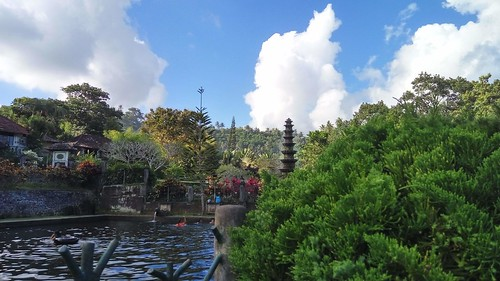 Have you visited Tirta Gangga Water Palace in Karangasem? This beautiful place belongs to Karangasem Kingdom. It is a perfect place for you to get chill after days spent on the beach and riding scooter all over Bali in a hot sunny day. There are several p
