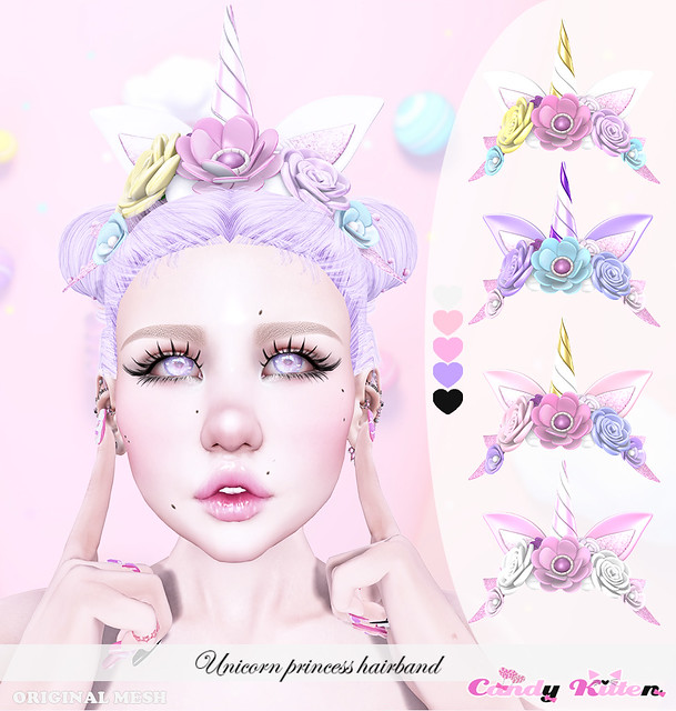 unicorn princess hairband at Sense event