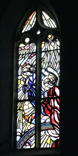 Ina Hoßfeld, Fenster rechts, Posaunenengel