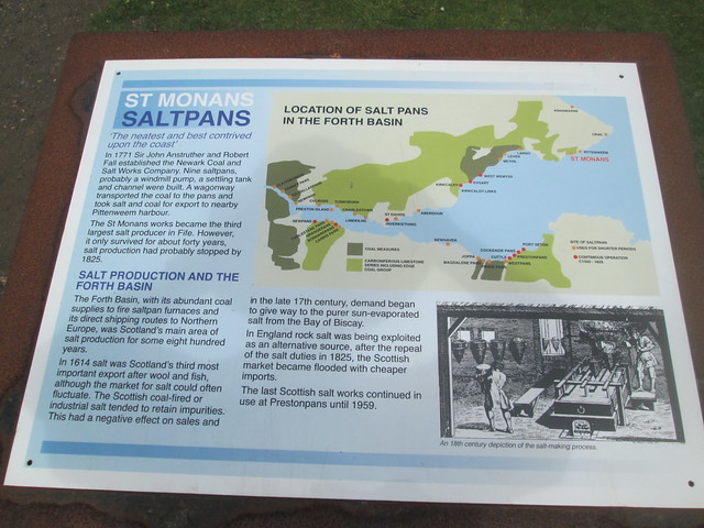 Salt Pan Information Board