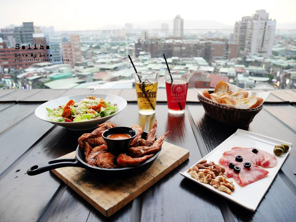 板橋一日遊餐廳美食推薦府中站附近ABV閣樓餐酒館景觀餐廳 (4)