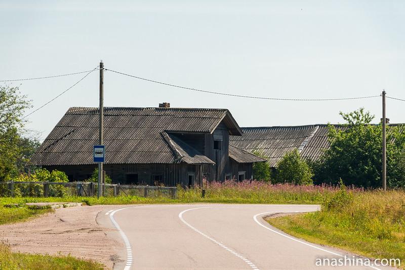 Старинный карельский дом в Погранкондушах