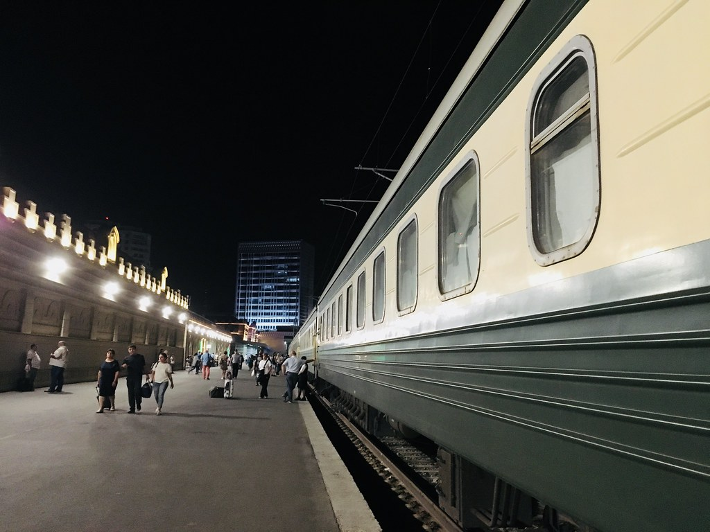 Baku - Tbilisi Overnight Train #38