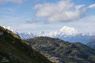 hike at Aletsch Glacier