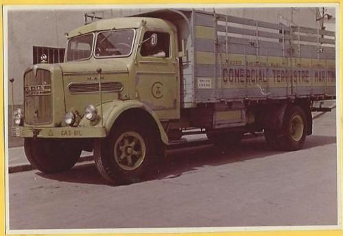 camió Man companyia Terrestre i Marítima