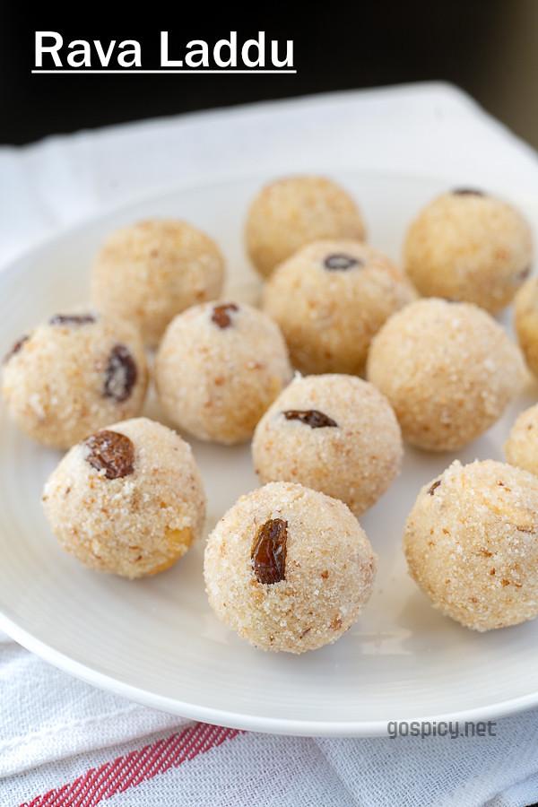 Rava Laddu Recipe by GoSpicy.net