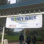 kidney walk sign (Sept 23, 2018)