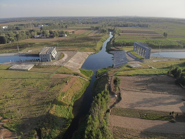 Pan river crossing South–North Water Transfer Project