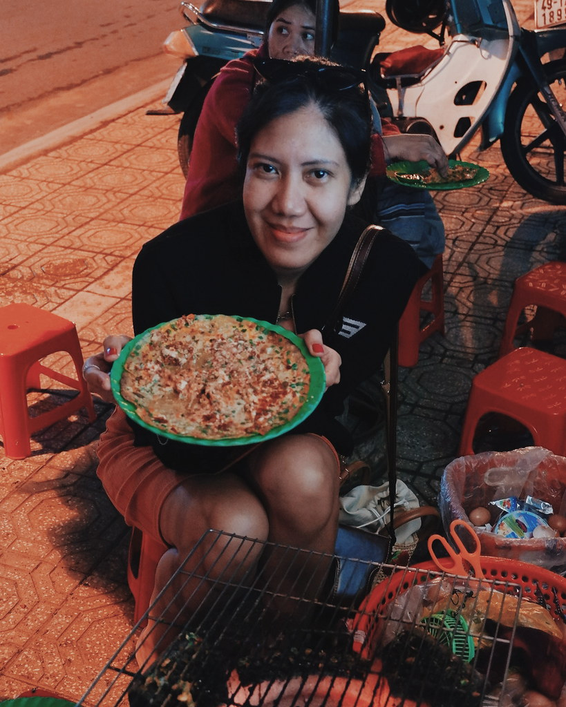 Da Lat Street Food Tour  Da Lat Pancake Pizza