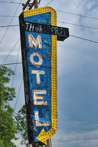 colorado motel us 50 royal gorge hotel overnight room neon sign old decayed abandoned