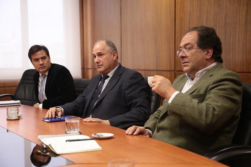 Ministro Antonio Walker se reúne con autoridades del BancoEstado encabezados por su presidente Arturo Tagle y con dirigencia de la Sociedad de Fomento Agrícola de Temuco (SOFO)
