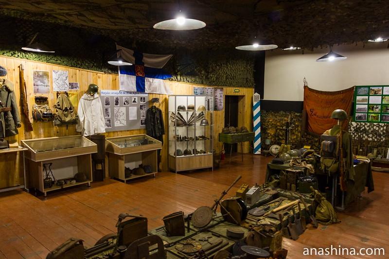 Военно-исторический музей имени Бондарева в Сортавале