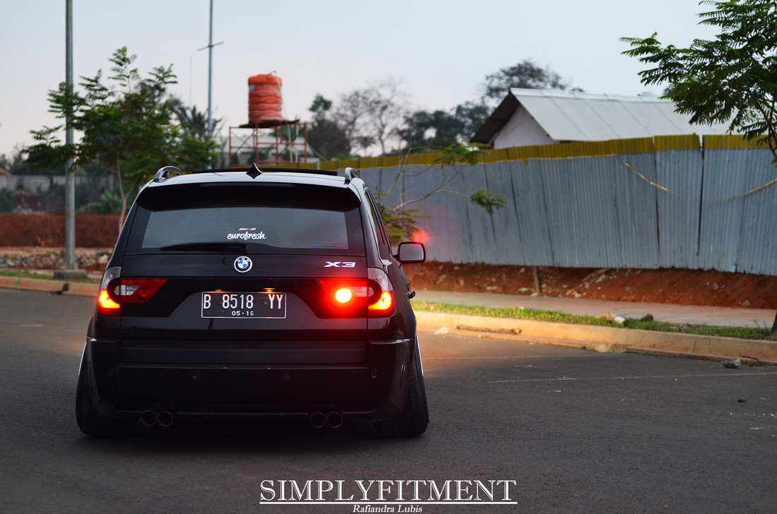 NOT YOUR ORDINARY BMW X3 // BAGAS'S DAILY RIDE