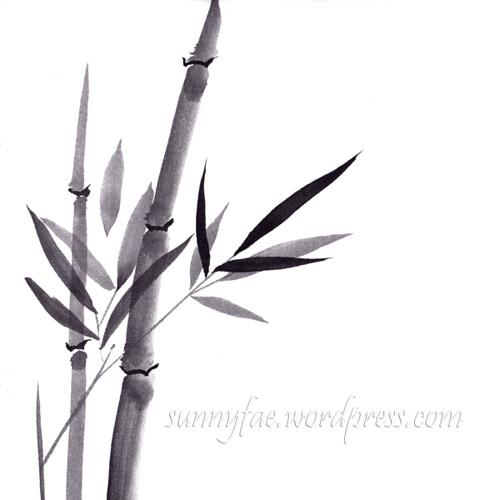 day 01 inktober 2018 bamboo