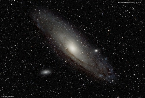 Messier 31 The Andromeda Galaxy 06.10.18