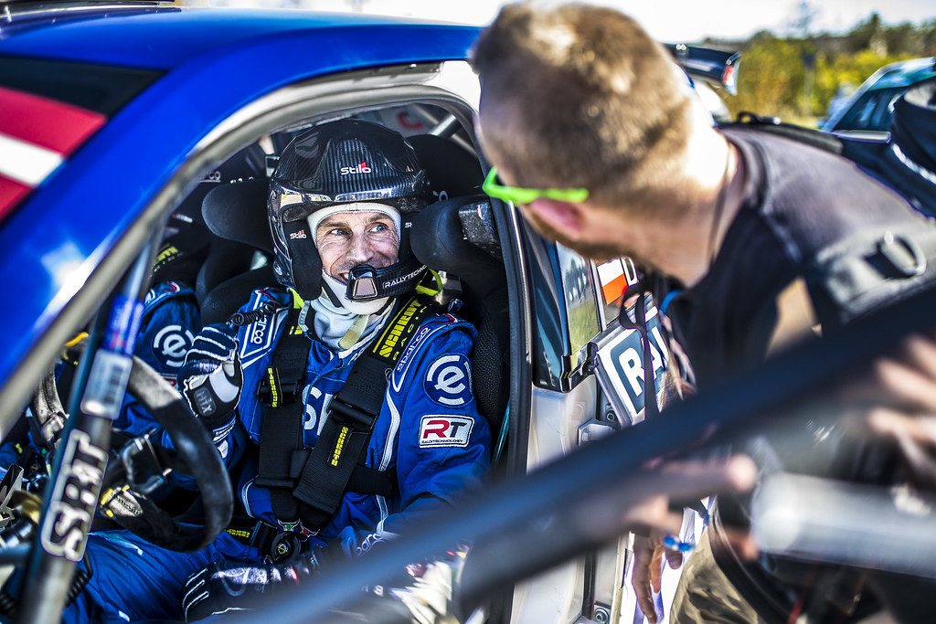 HABAJ Lukasz , (POL), RALLYTECHNOLOGY, Skoda Fabia R5, Portrait during the 2018 European Rally Championship ERC Liepaja rally,  from october 12 to 14, at Liepaja, Lettonie - Photo Gregory Lenormand / DPPI