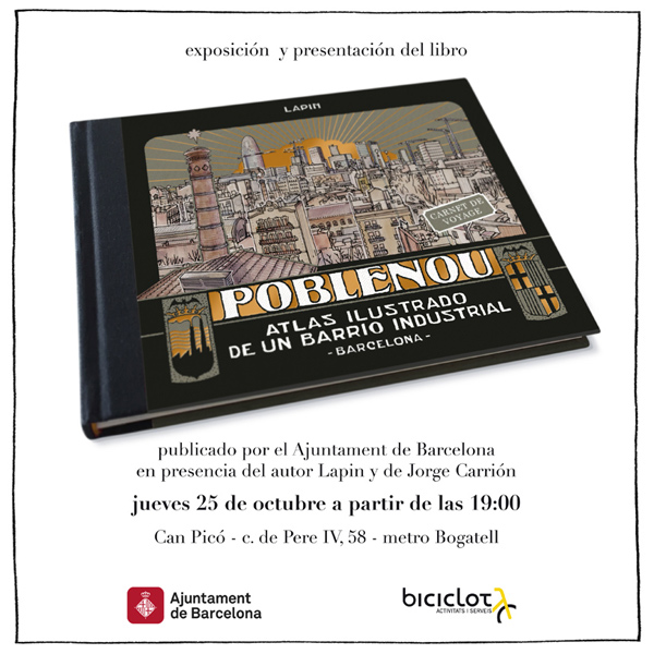 "book launch ""poblenou""!"