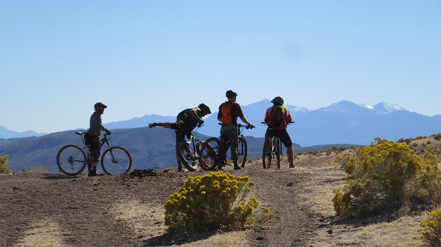 MTB ride to Virginia City 2018