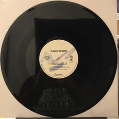GANG STARR:DWYCK(RECORD SIDE-B)
