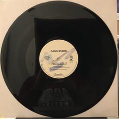 GANG STARR:DWYCK(RECORD SIDE-B)