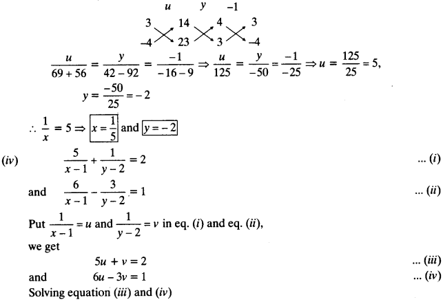 NCERT Solutions for Class 10 Maths Chapter 3 Pair of Linear Equations in Two Variables 75