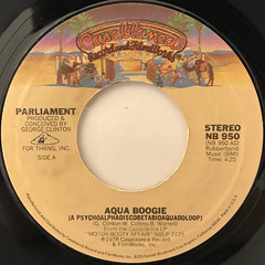 PARLIAMENT:AQUA BOOGIE(LABEL SIDE-A)