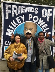 4WardEverUK for Mikey @ UFFC Rally London 2018 - Image credit Deb Coles