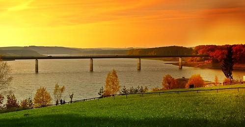 Talsperre Zeulenroda - thüringisches Vogtland