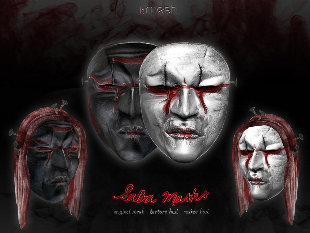 SABA masks - TeleportHub.com Live!
