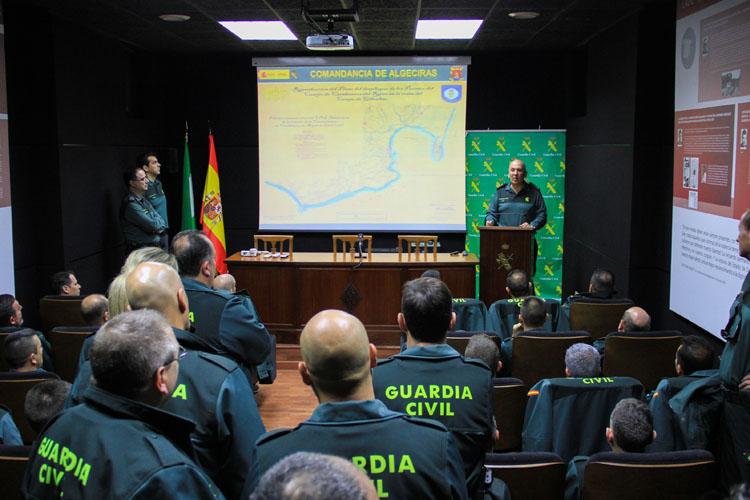 La Guardia Civil se refuerza en el Campo de Gibraltar con 51 nuevos efectivos