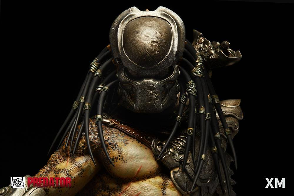 狂暴的恐怖狩獵者駕到!! XM Studios Supreme Scale 系列《終極戰士》終極戰士 Predator Warrior 全身雕像作品
