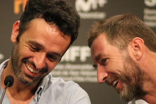 Rodrigo Sorogoyen y Antonio de la Torre