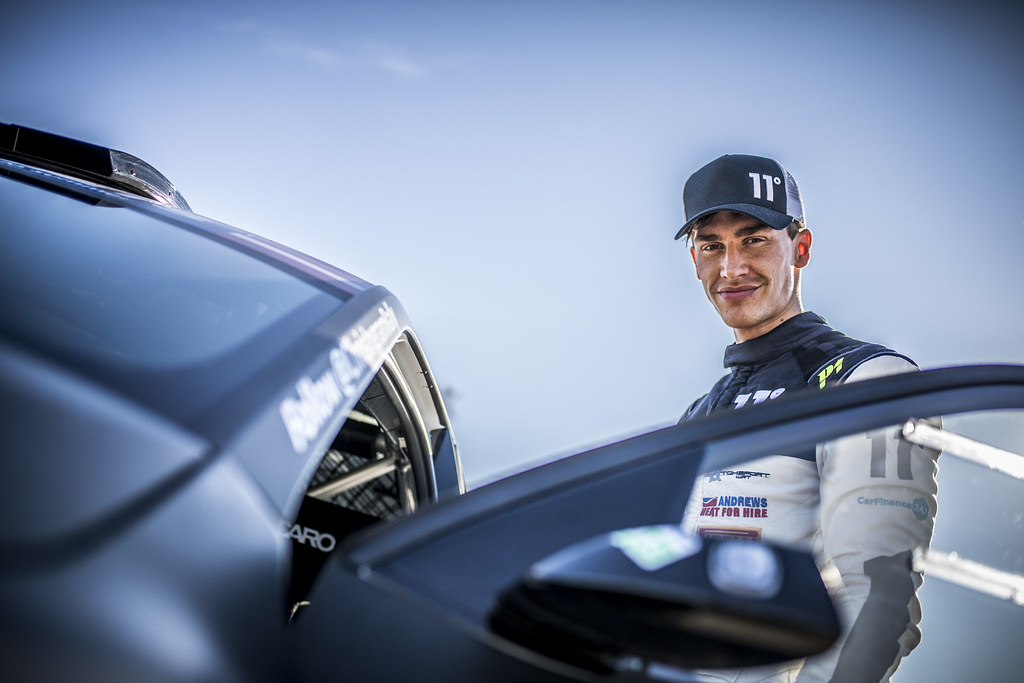 INGRAM Chris, (GBR), TOKSPORT WRT, Skoda Fabia R5,  Portrait during the 2018 European Rally Championship ERC Liepaja rally,  from october 12 to 14, at Liepaja, Lettonie - Photo Gregory Lenormand / DPPI
