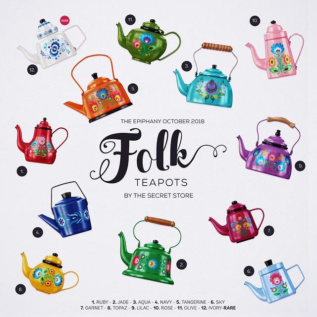 Folk Teapots - The Epiphany