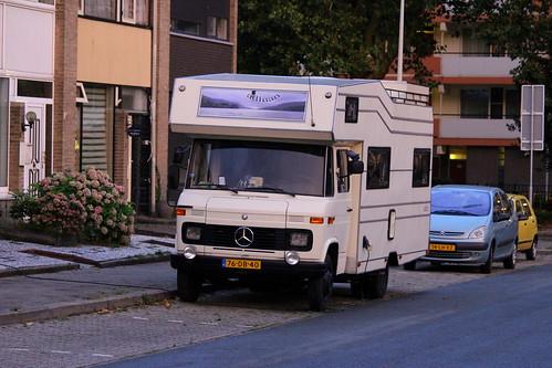 1978 Mercedes-Benz L608D Campervan