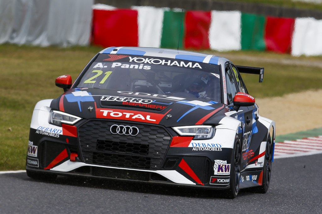 21 PANIS Aurelien, (fra), Audi RS3 LMS TCR team Comtoyou Racing, action during the 2018 FIA WTCR World Touring Car cup of Japan, at Suzuka from october 26 to 28 - Photo Clement Marin / DPPI