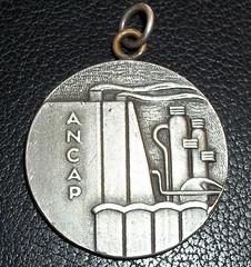 1962 Uruguary ANCAP Medal obverse