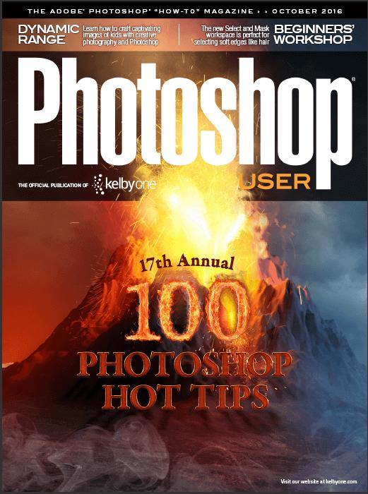 """The magazine """"Photoshop User"""" – October 2016 (English)"""