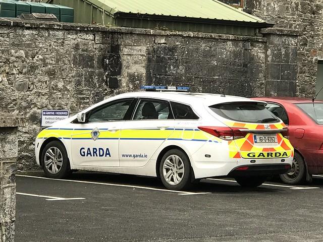 Police Car - Gort, County Galway - National Police Force Ireland - An Garda Siochana