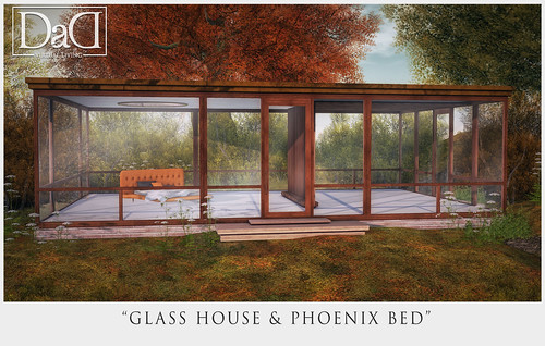 Glass House & Phoenix Bed - NEW RELEASE for Collabor88