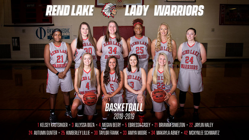 RLC Women's Basketball 2018-2019