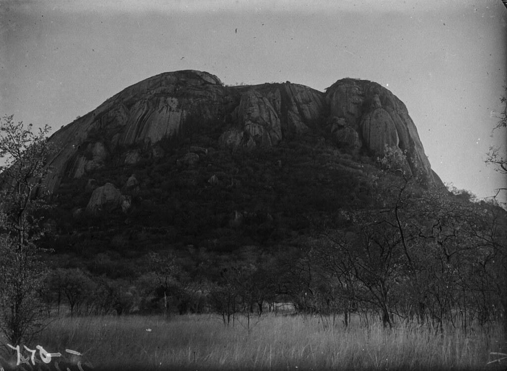 Окрестности Солсбери. Большая скала