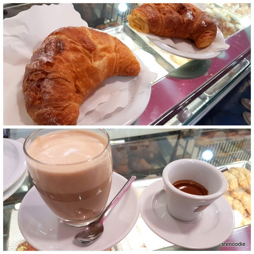 breakfast at La Pasticceria Siciliana